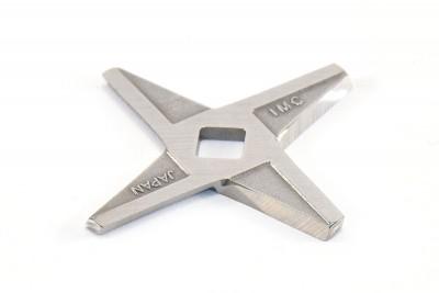 Нож мясорубки Saturn CC-12 (двусторонний) (D=60 мм, толщ.=3 мм, квадрат=8 мм)