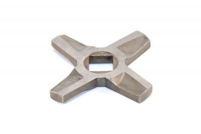 Нож мясорубки Zelmer NR8, 86.3109 (D=55.5 мм, толщ.=5 мм, квадрат=10 мм) (двусторонний)