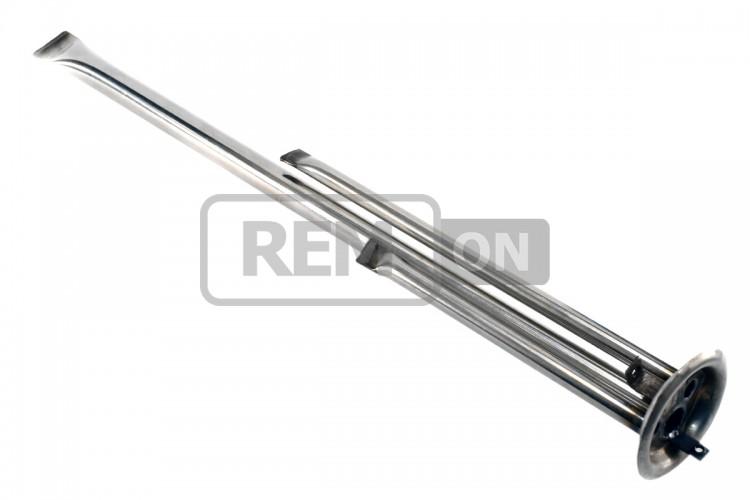Фланец бойлера Thermex 900-1300Вт (D=64 мм, L=423/170/248 мм) (три трубы)