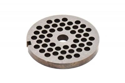 Сетка мясорубки Braun (d внеш=53мм, d вн=8мм, отв= 4,5мм) - 67000907