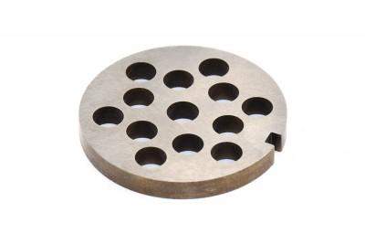Сетка мясорубки Braun (d внеш=53мм, d вн=8мм, отв= 8мм) - 67000909