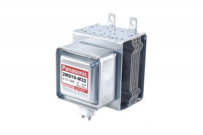 Магнетрон микроволновой печи Panasonic 2M210-M1, 2M210-M32 (950Вт, 6 пластин, не инверторный)