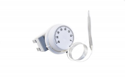 Термостат капиллярный механический HUIDE WY40-000 (t=5/40°С, 16А, Т125, 250В) 3 контакта